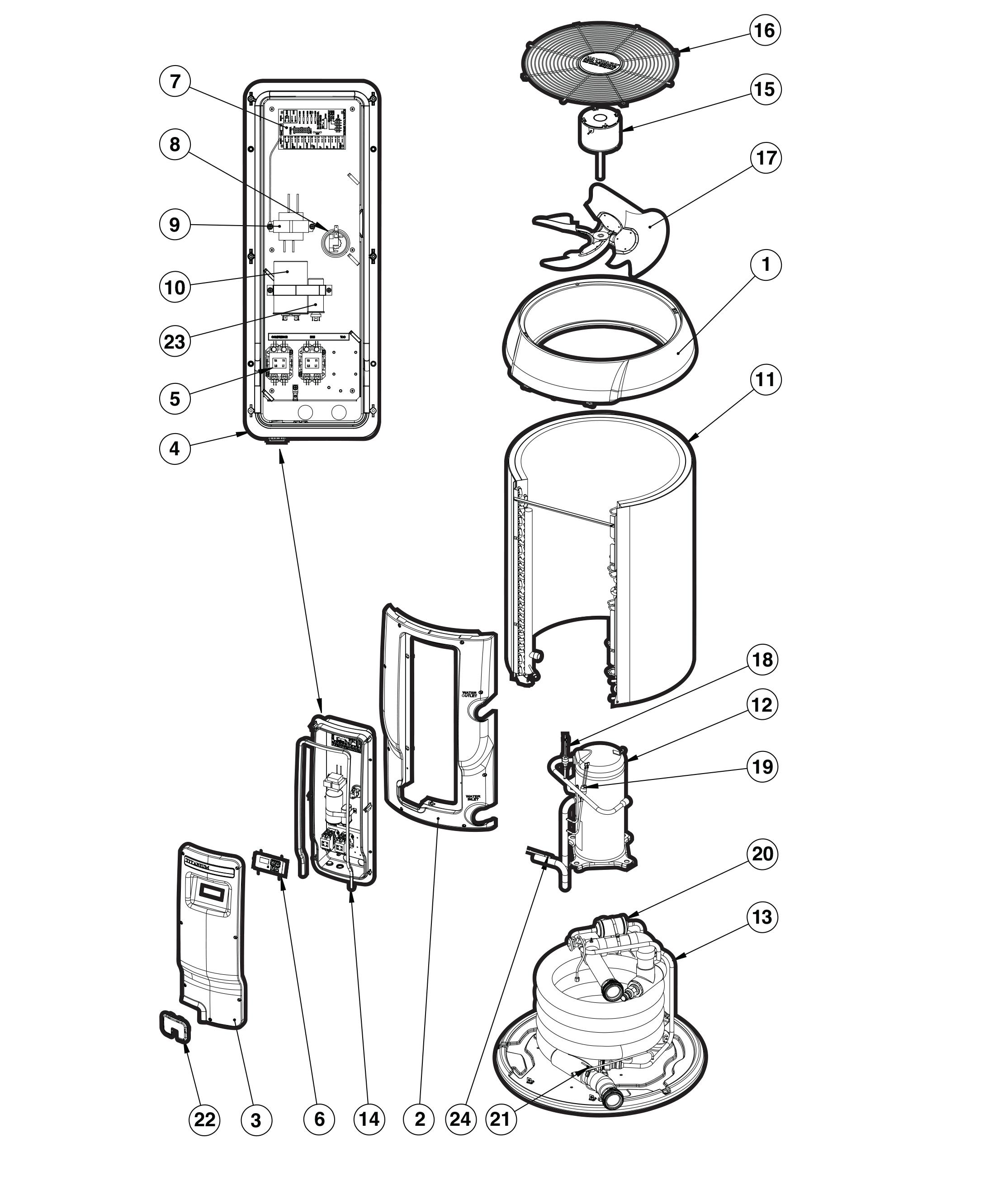 hayward hp11002 wiring harness   30 wiring diagram images